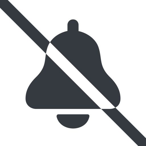 bell-solid line, wide, prohibited, bell, notification, alarm, bell-solid free icon 512x512 512x512px