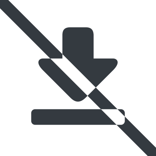 download-solid line, up, wide, download, downloaded, downloading, prohibited, download-solid free icon 512x512 512x512px