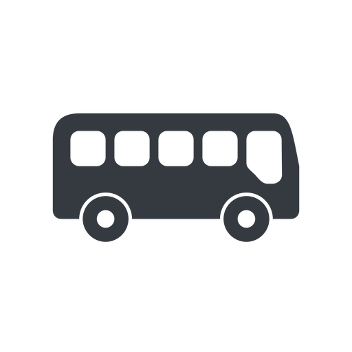 bus-side wide, solid, car, vehicle, transport, bus, side, bus-side free icon 512x512 512x512px